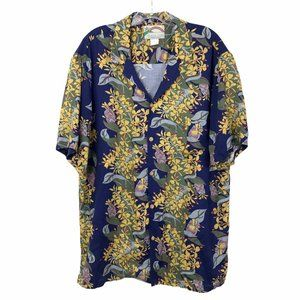Paradise Found Hawaiian Shirt Floral #101